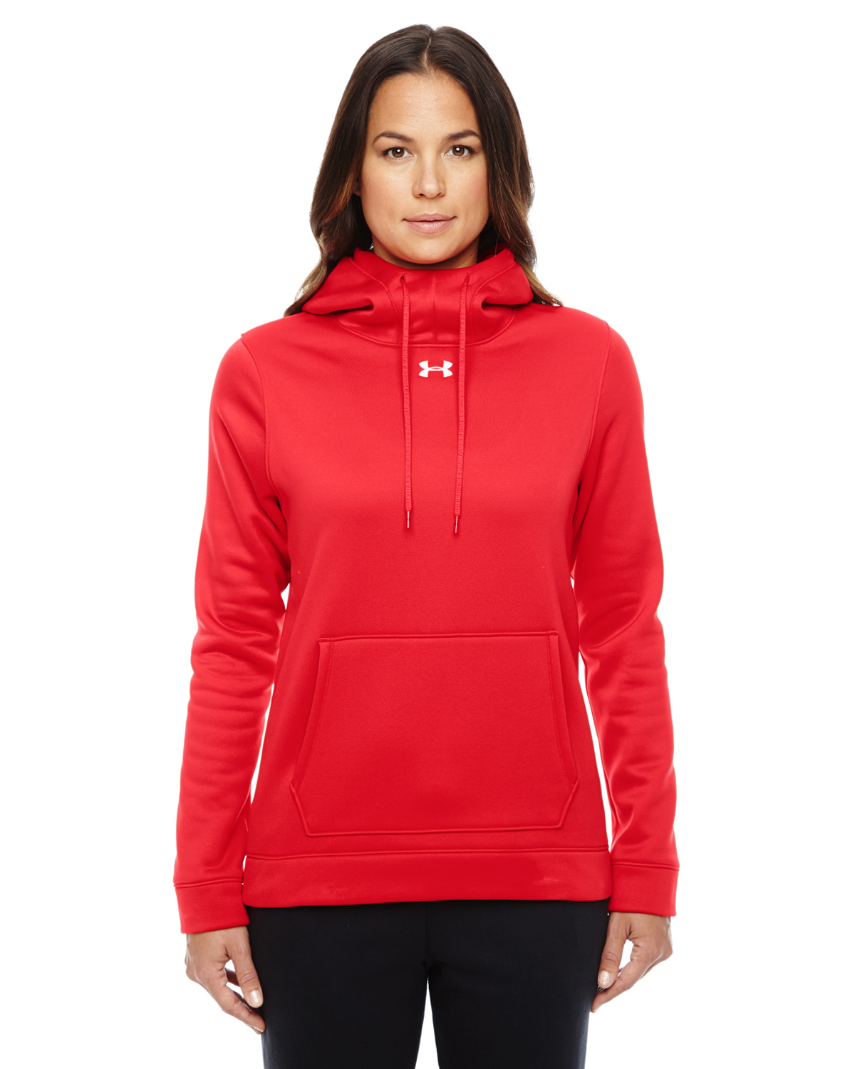 LADIES UA STORM ARMOUR FLEECE HOODY