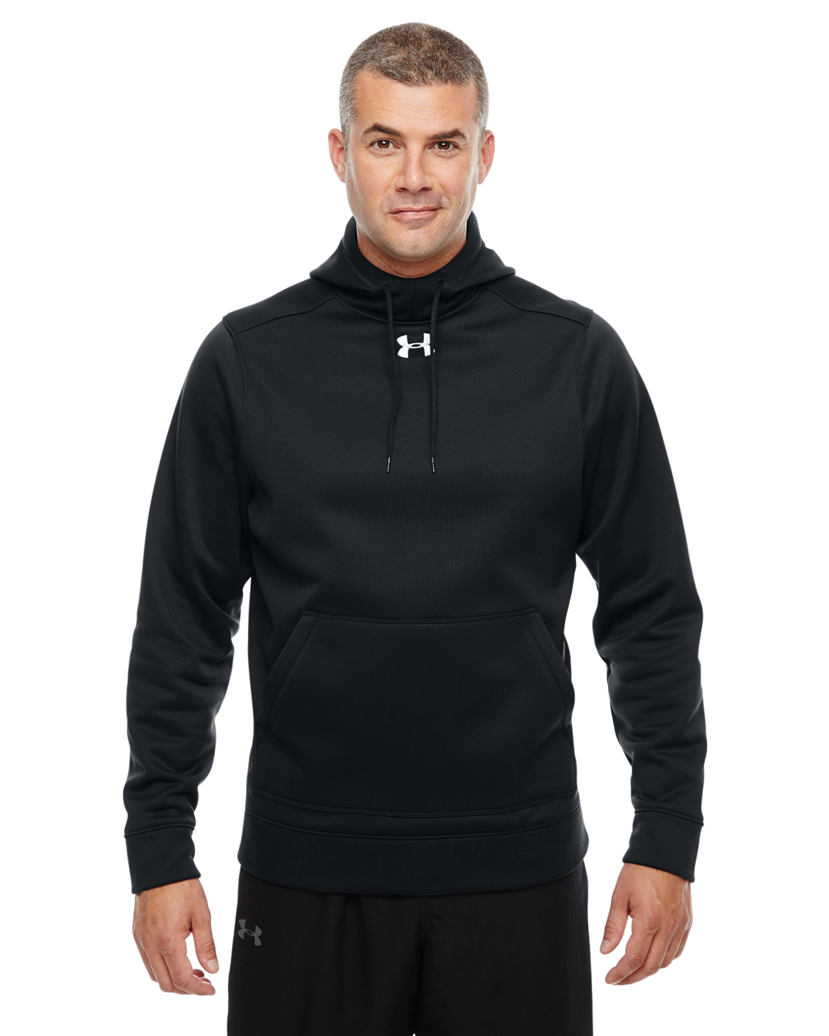 MENS UA STORM ARMOUR FLEECE HOODY