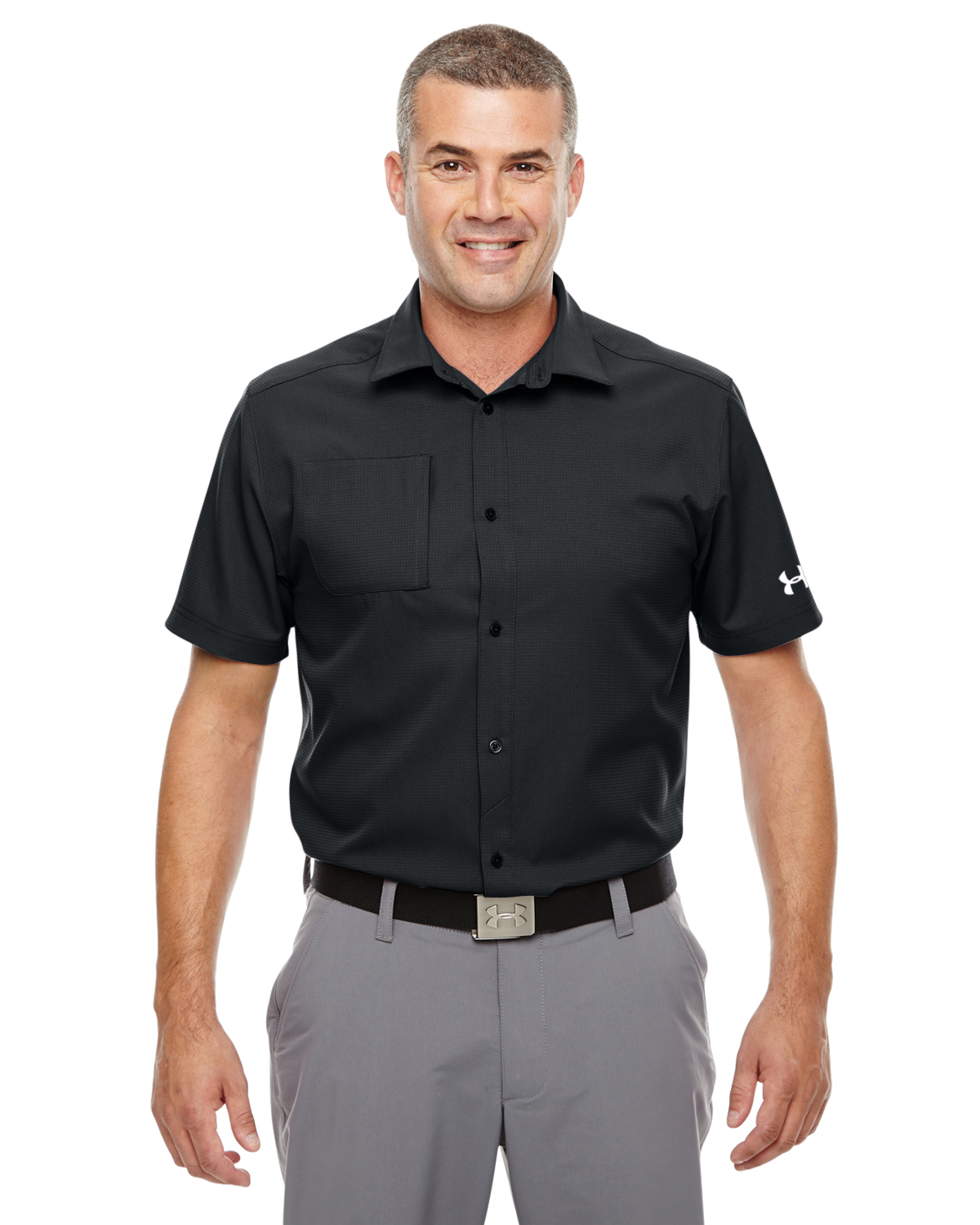 MENS UA ULTIMATE SHORT-SLEEVE BUTTONDOWN
