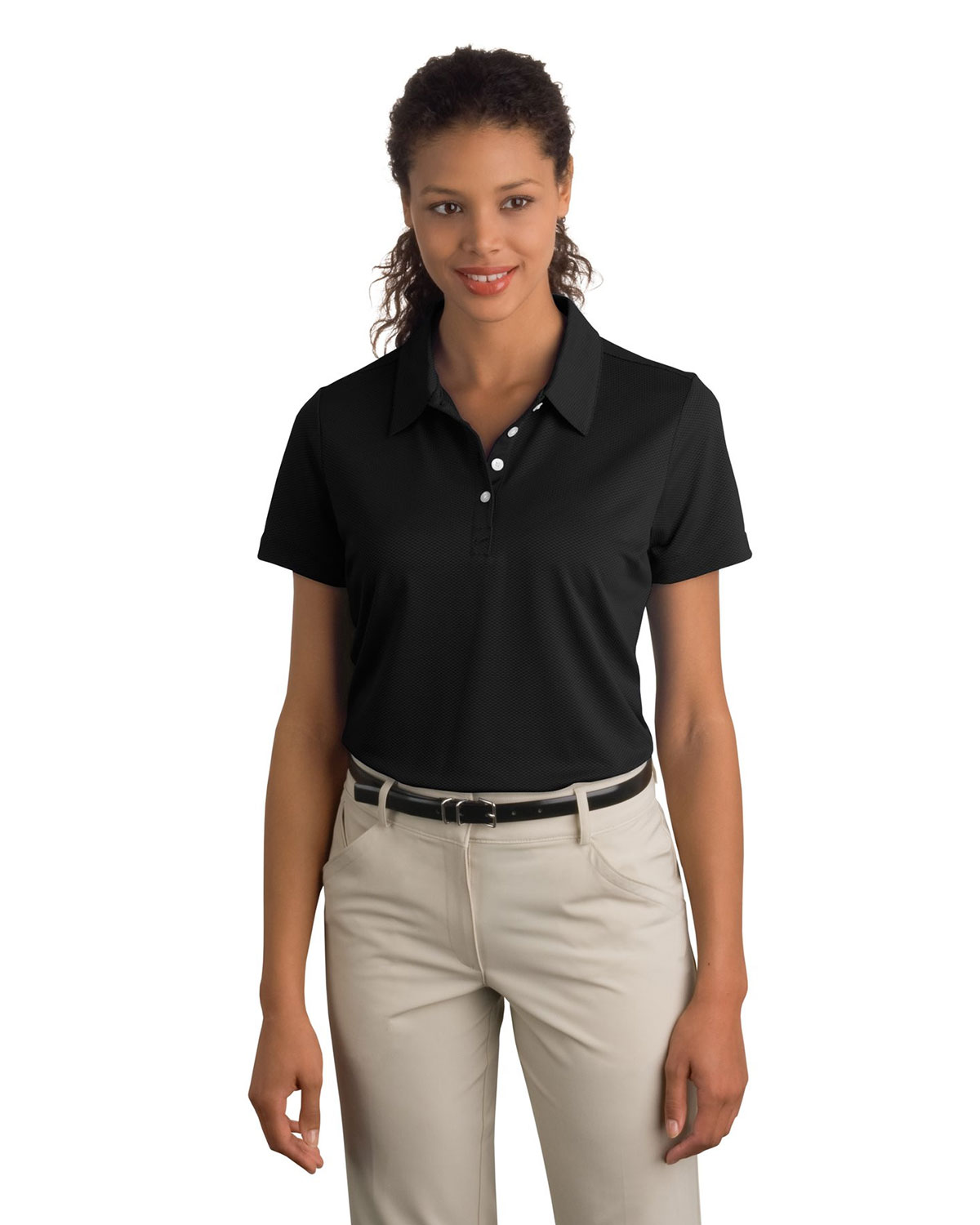 LADIES NIKE SPHERE DRY DIAMOND POLOS