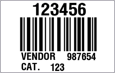HSN Sample Master Carton Label